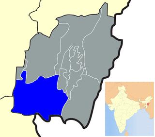 Churachandpur district District in Manipur, India