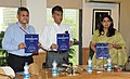 Manish Tewari releasing the Indian Information Service Civil List 2013 (Group 'A' Officers), in New Delhi. The Secretary, Ministry of Information & Broadcasting.jpg