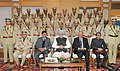 Manmohan Singh with the 64th Batch of IPS Probationers, in New Delhi on December 26, 2012. The National Security Advisor, Shri Shivshankar Menon and the Union Home Secretary, Shri R.K. Singh are also seen.jpg