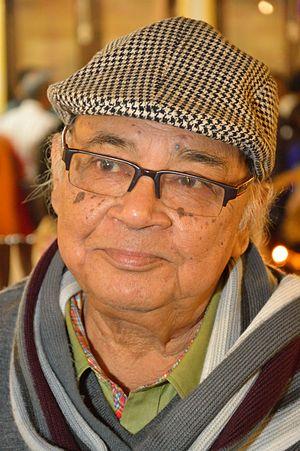 Manoj Mitra - Manoj Mitra in 22nd December 2013, Kolkata