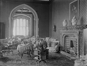 Adare Manor - Interior, c.1880-1914