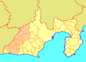 Maisaka, Shizuoka - Image: Map.Maisaka.Shizuoka