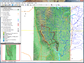 gis mapping Windows