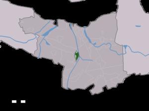 Sluiskil - Image: Map NL Terneuzen Sluiskil