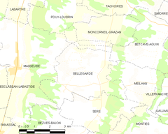 Map commune FR insee code 32041.png