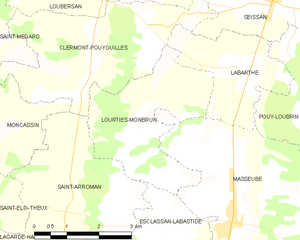 Map commune FR insee code 32216.png