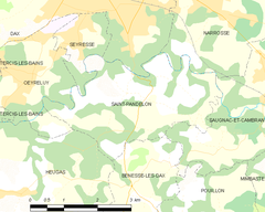 Map commune FR insee code 40277.png