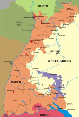 Baden 1806–1945