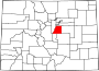 Map of Colorado highlighting Douglas County.svg