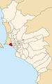 Map of Lima highlighting San Miguel.PNG
