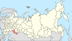 Map of Russia - Orenburg Oblast (2008-03).svg