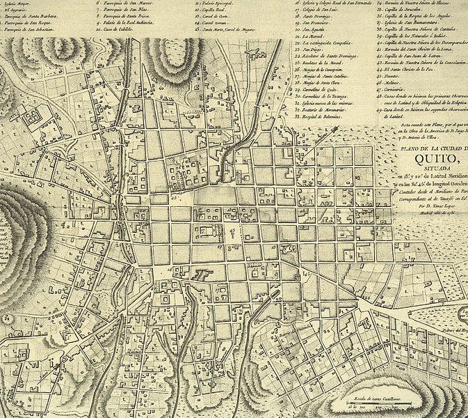 Fotos antiguas de San Francisco de Quito