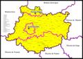 Mappa Diocesi di Mechelen-Malines Brussel-Bruxelles.png