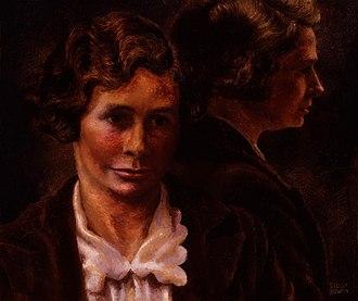 Margaret Cole - Margaret Cole in 1944-45 by Stella Bowen