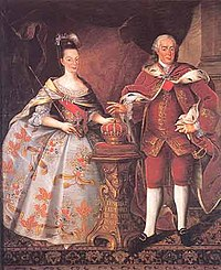 Queen Maria I and King Pedro III
