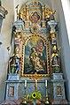Maria Rain Wallfahrtskirche Mariae Himmelfahrt Apollonia-Altar in zweiter Kapelle 18082013 544.jpg