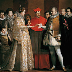 {{Information |Description={{en|1=Maria de Medici's marriage by proxy with Henry IV of France, represented by Ferdinand I, Grand Duke of Tuscany.}}