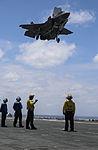 Marines make progress with F-35B during OT-1 150521-M-GX379-026.jpg