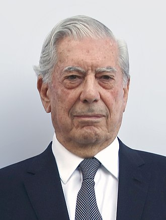 Mario Vargas Llosa - Mario Vargas Llosa at the XIII Prix Diálogo (2016)