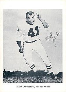Mark Johnston (American football)