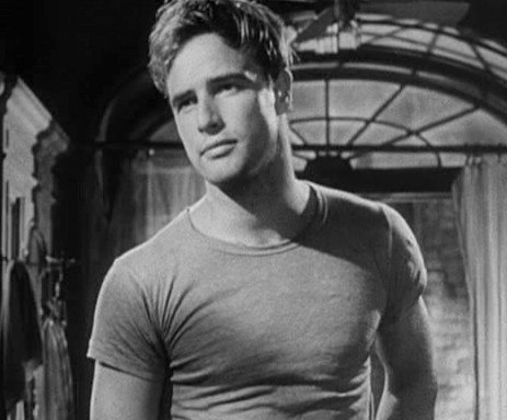 Marlon Brando in 'Streetcar named Desire' trailer (cropped)