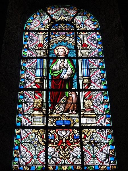 Maroilles (Nord, Fr) église vitrail 12 apôtres 03