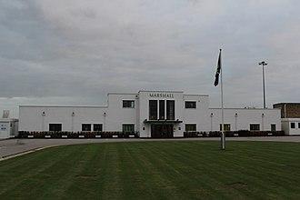 Cambridge International Airport - The airport main building (1938)