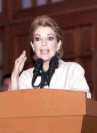 First Lady of Mexico - Marta Sahagún portrait