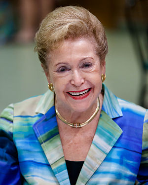 Mary Higgins Clark - Higgins Clark at the Mazza Museum in 2012