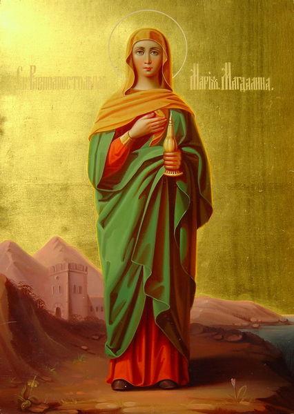 File:Mary Magdalene (end 19-early 20 c., Sergiev Posad).jpg