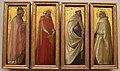 Masaccio, quattro santi dai pilastrini del polittico di pisa, 1426.JPG
