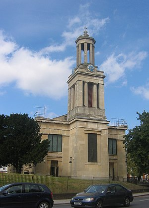 St Matthew's Church, Brixton, London, UK. The ...