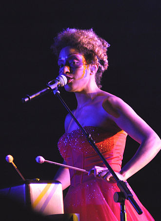 Martina Topley-Bird - Topley-Bird Performing with Massive Attack at Conegliano in 2009