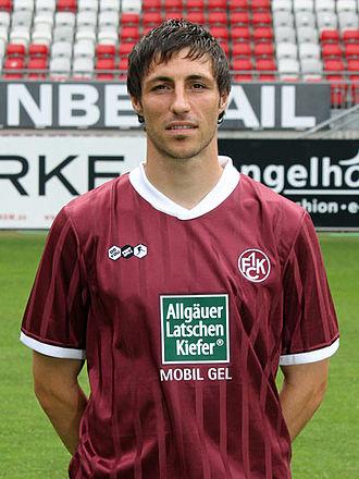 Mathias Abel - Abel as a Kaiserslautern player