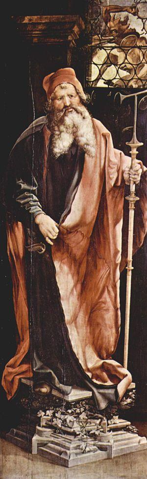 Four Holy Marshals - Image: Mathis Gothart Grünewald 029