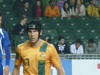 Matt McKay - McKay with Australia in 2012