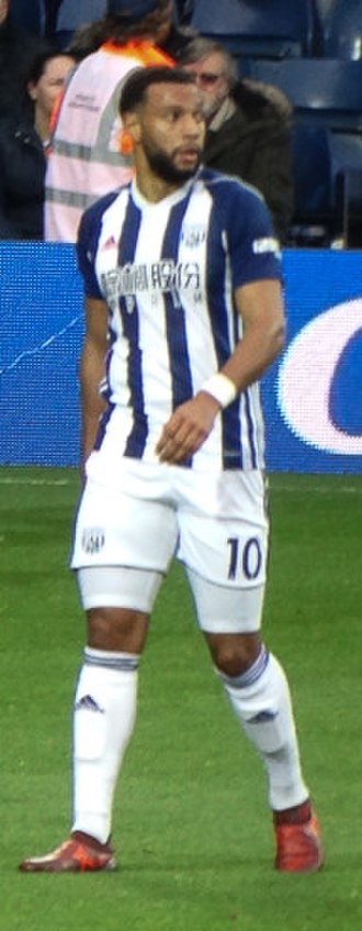 Matt Phillips - Phillips playing for West Bromwich Albion in 2017