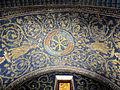 Mausoleo di galla placidia, int., cervi alla fonte di sx 03.JPG