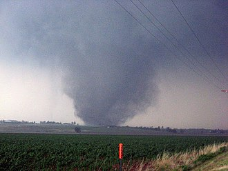 Tornado outbreak sequence of May 21–26, 2011 - High-end EF4 tornado that struck Chickasha, Oklahoma on May 24th.