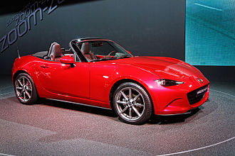 2014 Paris Motor Show - Mazda MX-5 at Paris 2014