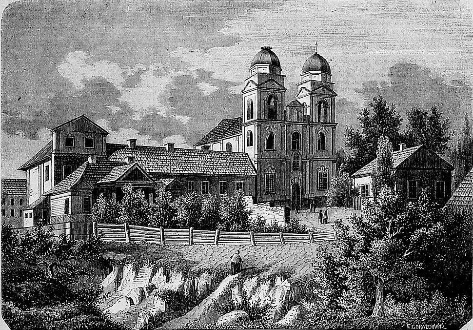 Mazyr, Zamkavaja, Bernardynski. Мазыр, Замкавая, Бэрнардынскі (1865)