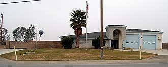 McKittrick, California - Image: Mc Kittrick California fire station