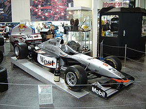 McLaren MP4/12 - The McLaren MP4-12 on display.