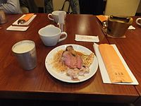 Meat Dish on Table of Spice Market 20120128a.jpg