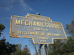 Official logo of Mechanicsburg, Pennsylvania