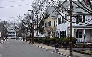 Old Ship Street Historic District - Pleasant Street