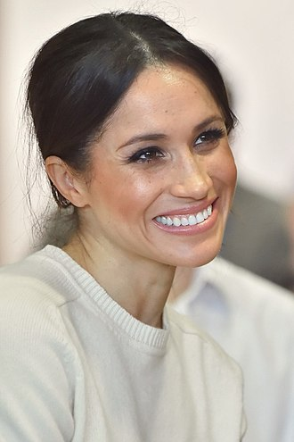British princess - HRH The Duchess of Sussex, granddaughter-in-law of the Queen.
