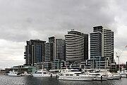 Melbourne docklands area