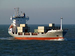 Melody approaching Port of Rotterdam 29-Jan-2006.jpg