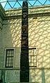 Memorial Pole (ptsaan) for Chief Luuyaas Eagle-Beaver Clan of the Nisgaa Nation - British Museum.jpg